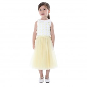 Baby Doll - flower petals Top+Tulle Skirt
