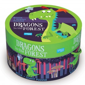Sassi Junior  - Puzzle & Book Dragons Forest