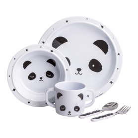 A Little Lovely - Dinner Set Panda