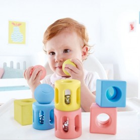 Hape - Geometric Rattle Trio