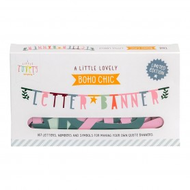 A Little Lovely - Letter Banner Boho