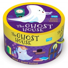 Sassi Junior  - Puzzle & book Ghost House