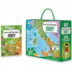 Sassi Junior  - Italy Book & Puzzle