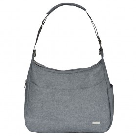 JJ Cole - Linden Diaper Bag-Gray Heather