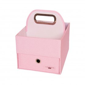 JJ Cole - Diaper Caddy-Pink Heather