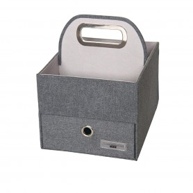 JJ Cole - Diaper Caddy-Slate Heather