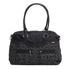 JJ Cole - Satchel Bag-Charcoal Infinity