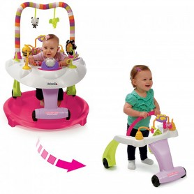 Kolcraft - Baby Sit and Step 2 in 1 Activity center