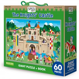 Sassi Junior  - Knights And Castles Puzzle