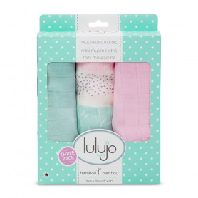 Lulujo - Mini Bamboo Muslin Cloth