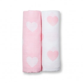 Lulujo - 2 pack Cotton Swaddles