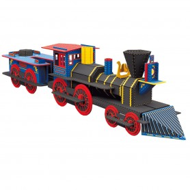 Sassi Junior  - Build A Locomotive 3D