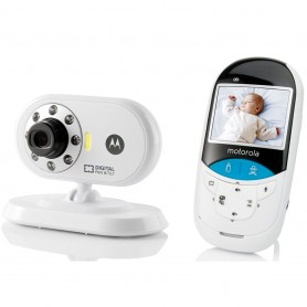 "Motorola - 2.4"" Digital Baby Monitor With Thermometer"