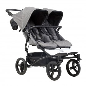 Mountain Buggy - Duet V3-Luxury Herringbone