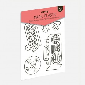 OMY - Set of Shrink Plastic Music