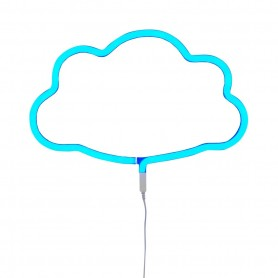 A Little Lovely - Neon Light Cloud  Blue