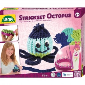 Lena - Octopus Knitting Set