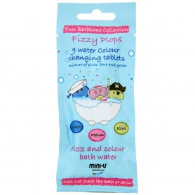 Fizzy Plops Bath Colour Tablets 9 x 3g