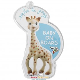 Sophie the Giraffe Flashing Baby on Board