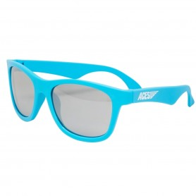 Aces - Electric Blue Navigaor with Mirrored Lenses
