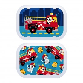 Yubo Fire Truck Dog Faceplate!