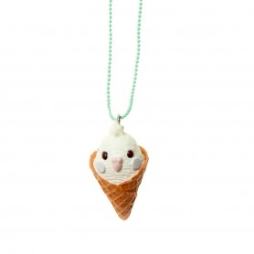 Parakeet White Necklaces