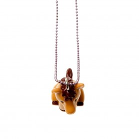 Brown Pets Necklaces