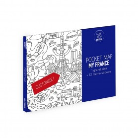 OMY - Pocket Map France