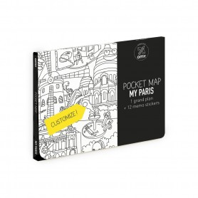 OMY - Pocket Map Paris
