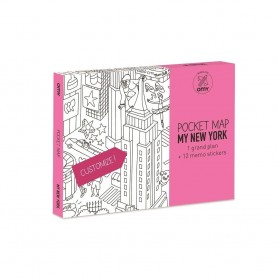 OMY - Pocket Map New York