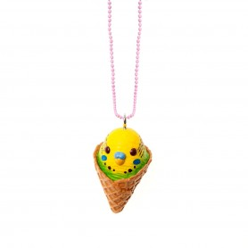 Parakeet Yellow Necklaces