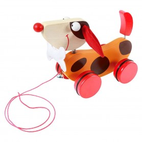 Pull-Along Toy LargeDogRed