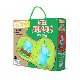 Sassi Junior - Puzzle 2 Large Animals