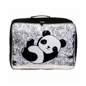 A Little Lovely - Suitcase-Glitter Panda