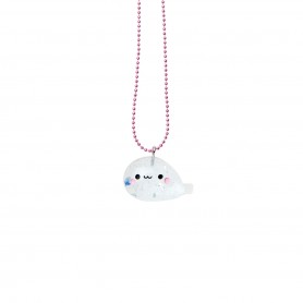 Pop Cutie - Seal Blue Necklace