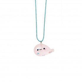Pop Cutie - Seal Pink Necklace