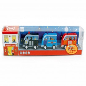 Scratch - Set of Pull Back Cars Emergency