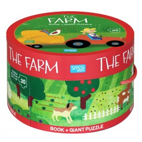 Sassi Junior  - Puzzle & Book Farm
