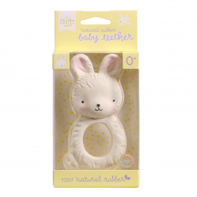 A Little Lovely - Teething Ring Bunny