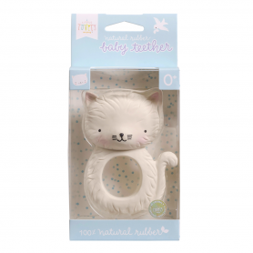 A Little Lovely - Teething Ring  Kitty