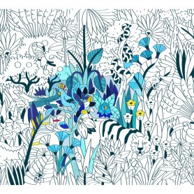 OMY -  COLORIAGE XXL-TROPICAL