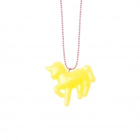 Unicorn Yellow Necklaces