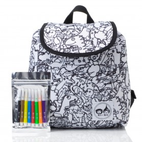 Zip & Zoe - Colour and Wash Backpack