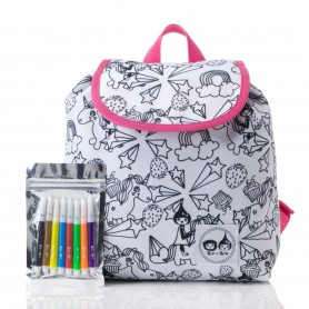 Zip and Zoe - Colour and Wash Backpack