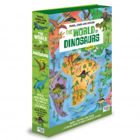 Sassi Junior  - World Of Dinosaurs 3D Puzzle