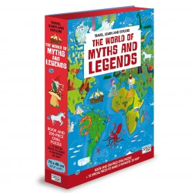 Sassi Junior  - World Of Myths & Legends 3D Puzzle