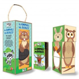 Sassi Junior  - Blocks And Book Forest Animals